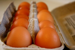free public domain image of brown eggs